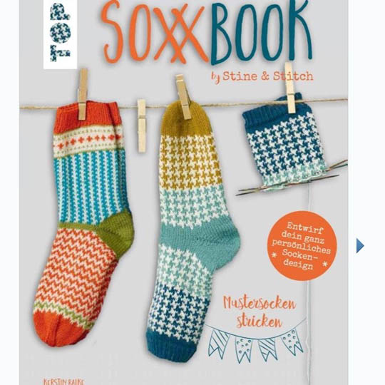 div. Buchverlage Soxx Book by Stine & Stitch Deutsch