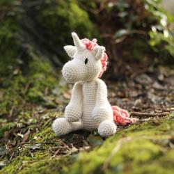 TOFT Chablis Unicorn Crochet Kit Chablis Unicorn