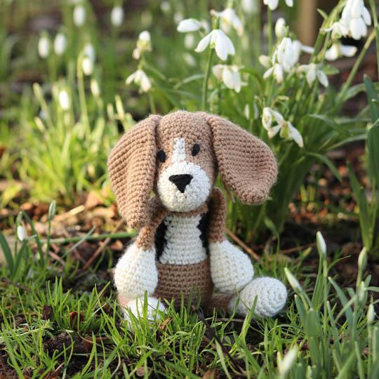 TOFT Lola Beagle Crochet Kit Lola Beagle