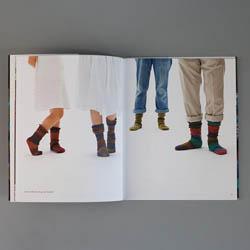 div. Buchverlage Spiral Socks by Bernd Kestler