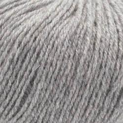 Kremke Soul Wool Strickset Schal Rispe Hellgraumeliert