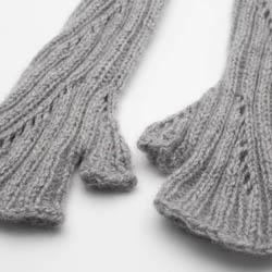 Kremke Soul Wool Strickset Stulpen Rispe