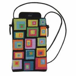 Fru Zippe phone bag 710238 colourful_cobblestone
