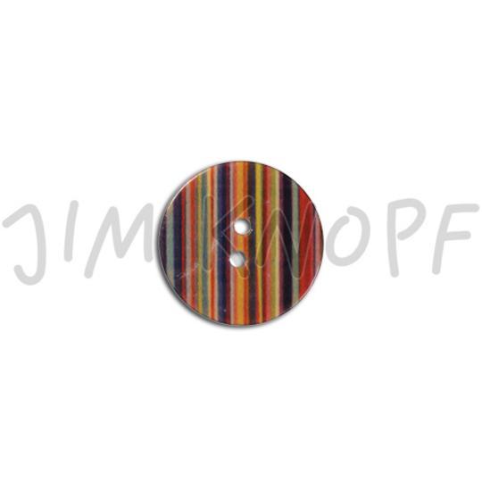 Jim Knopf Cocosknopf Streifen bunt in verschiedenen Größen Bunt gestreift