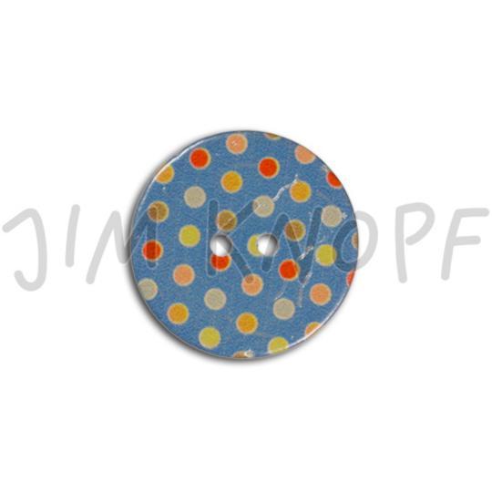 Jim Knopf Coconut Buttons Points Blau