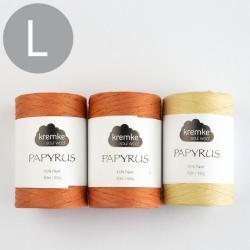 Kremke Soul Wool Crochet set Papyrus Basket Pia Helsinki