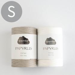Kremke Soul Wool Crochet set Papyrus Basket Pia Reykjavik