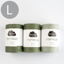 Kremke Soul Wool Crochet set Papyrus Basket Pia Stockholm
