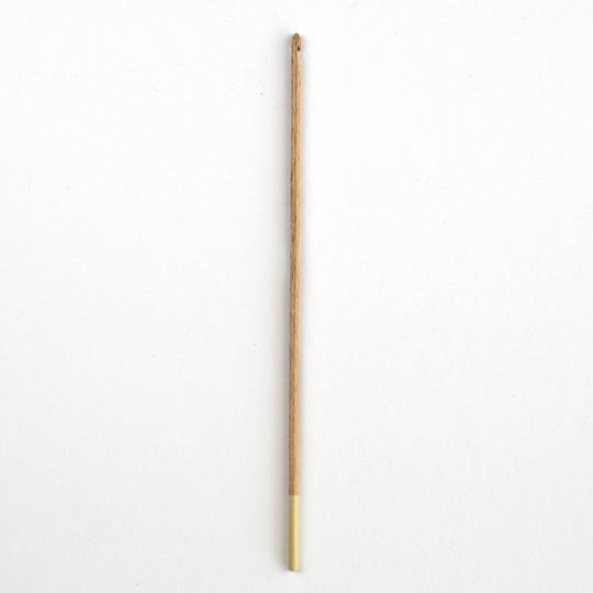 div. Zubehörhändler Häkelnadeln aus Buchenholz 3 mm