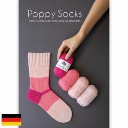Kremke Soul Wool Pattern booklet Poppy Socks Deutsch_B2C