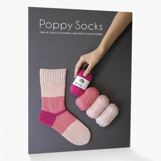 Kremke Soul Wool Pattern booklet Poppy Socks