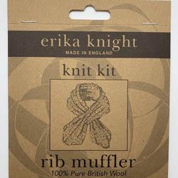 Erika Knight Pattern sleeves Rib Muffler ENG