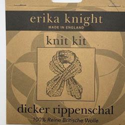Erika Knight Pattern sleeves Dicker Rippenschal Deutsch