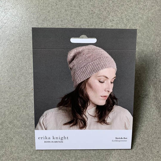 Erika Knight Pattern sleeves Banderole Wool Local Mütze Deutsch