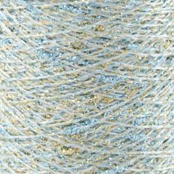 Karen Noe Design Stardust - Lurex thread turquoise-gold-silver