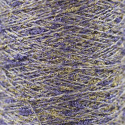 Karen Noe Design Stardust - Lurex thread lila-gold