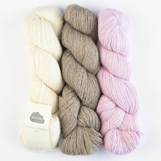 Kremke Soul Wool Alpaka Superfine Fino (100g)
