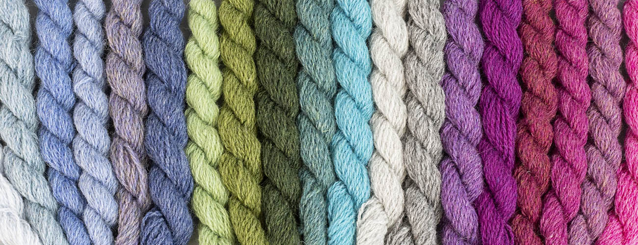 Sustainable and fair trade yarns